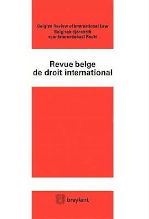 Bog, paperback Revue Belge de Droit International