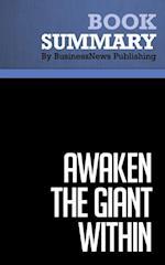 Summary: Awaken the Giant Within  Anthony Robbins