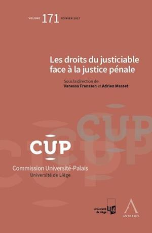 Les droits du justiciable face a la justice penale