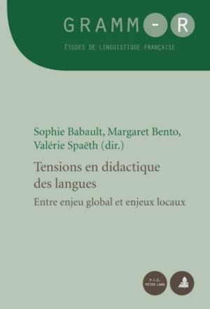 Tensions en didactique des langues