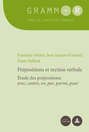 Prepositions et rection verbale