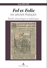 Fol Et Folie En Ancien Francais af Charles Brucker