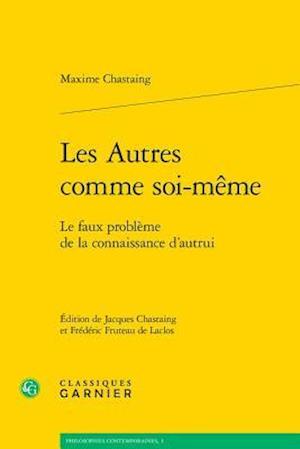 Bog, paperback Les Autres Comme Soi-meme af Maxime Chastaing