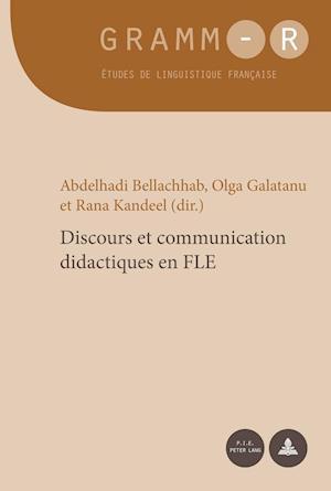 Bog, paperback Discours Et Communication Didactiques En Fle af Abdelhadi Bellachhab