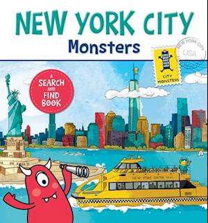 Bog, hardback New York City Monsters af Anne Paradis