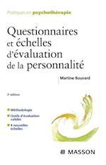 Questionnaires et echelles d'evaluation de la personnalite af Martine Bouvard