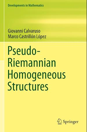 Pseudo-Riemannian Homogeneous Structures