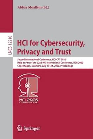 HCI for Cybersecurity, Privacy and Trust