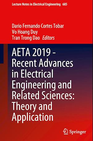 AETA 2019 - Recent Advances in Electrical Engineering and Related Sciences: Theory and Application