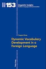 Dynamic Vocabulary Development in a Foreign Language (Linguistic Insights)