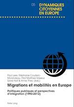 Migrations Et Mobilites En Europe (Dynamiques Citoyennes En Europe, nr. 5)