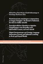 Environnements Numeriques Et Interactions En Langue Etrangere