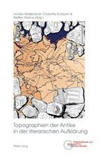 Topographien Der Antike in Der Literarischen Aufklaerung (Publikationen Zur Zeitschrift Fuer Germanistik, nr. 30)