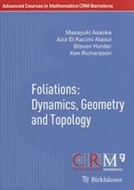 Foliations: Dynamics, Geometry and Topology (Advanced Courses in Mathematics, Crm Barcelona)