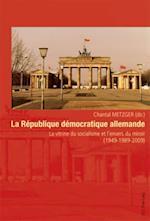La Republique democratique allemande