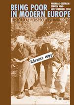 Being Poor in Modern Europe af Andreas Gestrich
