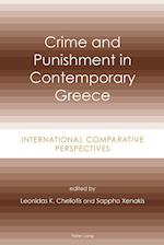 Crime and Punishment in Contemporary Greece
