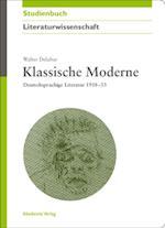 Klassische Moderne af Walter Delabar
