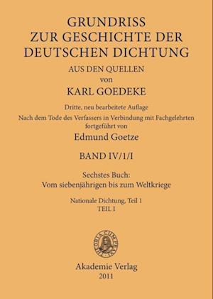 Sechstes Buch: Vom Siebenjahrigen Bis Zum Weltkriege