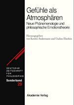 Gefuhle als Atmospharen (Deutsche Zeitschrift fur Philosophie Sonderbande)
