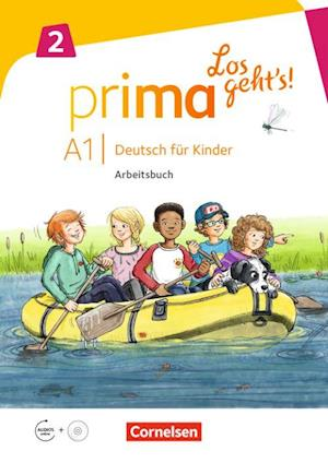 Prima - Los geht's! Deutsch für Kinder 2: Arbeitsbuch A1 (PB + CD)