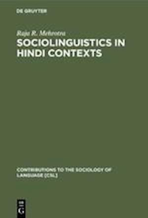 Sociolinguistics in Hindi Contexts