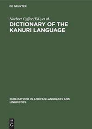 Dictionary of the Kanuri Language