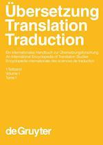 Übersetzung - Translation - Traduction. 1. Teilband (Handba14cher Zur Sprach Und Kommunikationswissenschaft H, nr. 26)