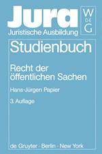 Recht Der öFfentlichen Sachen (Jura Studienbuch)