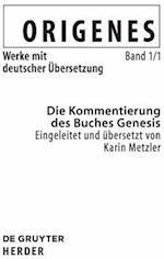 Die Kommentierung des Buches Genesis af Karin Metzler