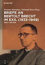 Briefe an Bertolt Brecht Im Exil (1933-1949)