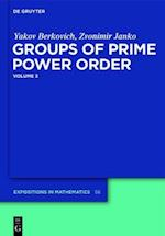 Groups of Prime Power Order (DE GRUYTER EXPOSITIONS IN MATHEMATICS, nr. 3)