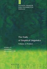The Fruits of Empirical Linguistics, Volume 2, Product (Studies in Generative Grammar Sgg, nr. 102)