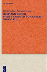 Briefe an Erich Von Kahler (1940-1951)