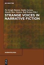 Strange Voices in Narrative Fiction (Narratologia, nr. 30)