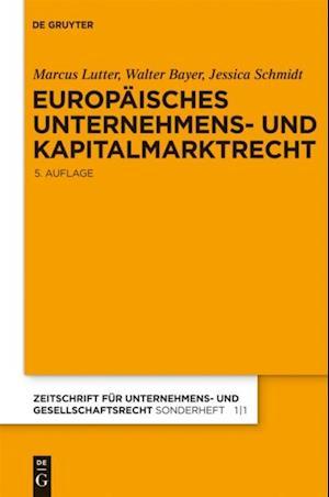 Europaisches Unternehmens- und Kapitalmarktrecht
