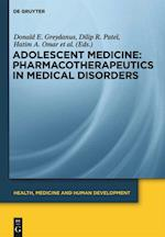 Pharmacotherapeutics in Medical Disorders