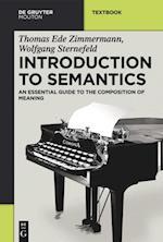 Introduction to Semantics af Thomas Ede Zimmermann, Wolfgang Sternefeld