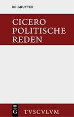 Marcus Tullius Cicero: Die politischen Reden. Band 1 (Sammlung Tusculum)