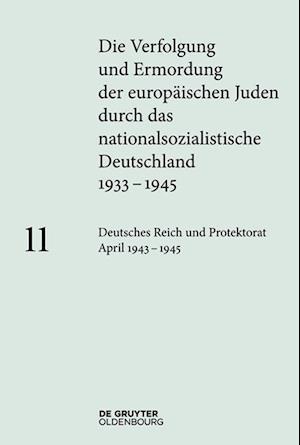 Deutsches Reich Und Protektorat Böhmen Und Mähren April 1943 - 1945
