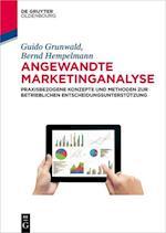Angewandte Marketinganalyse (De Gruyter Studium)