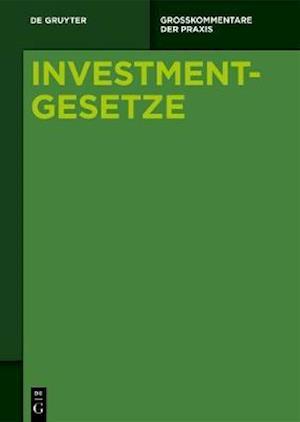 [set Investmentgesetze, Band 1-3]