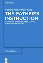 Thy Father's Instruction (Studia Judaica, nr. 79)