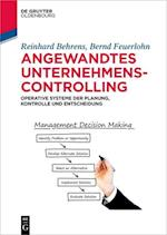 Angewandtes Unternehmenscontrolling (De Gruyter Studium)
