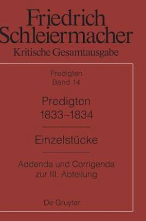 Predigten 1833-1834