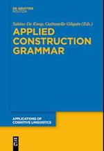 Applied Construction Grammar (Applications of Cognitive Linguistics)