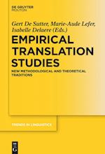 Empirical Translation Studies (TRENDS IN LINGUISTICS: STUDIES AND MONOGRAPHS)