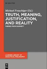 Truth, Meaning, Justification, and Reality (Lauener Library of Analytical Philosophy, nr. 4)