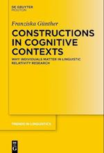 Constructions in Cognitive Contexts (TRENDS IN LINGUISTICS: STUDIES AND MONOGRAPHS, nr. 299)