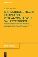 Die Kabbalistische Lehrtafel Der Antonia Von Wurttemberg (Fruhe Neuzeit, nr. 172)